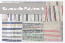 Cotton Patchwork Teppiche - Design Teppich Kollektion by Remade